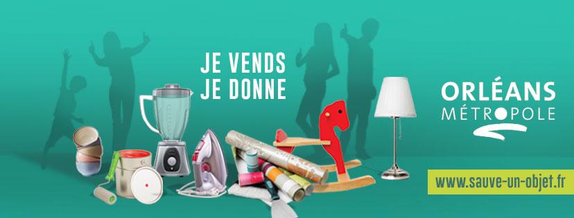 Sauve-un-objet.fr, le site de petites annonces 100 % locales à Orléans Métropole