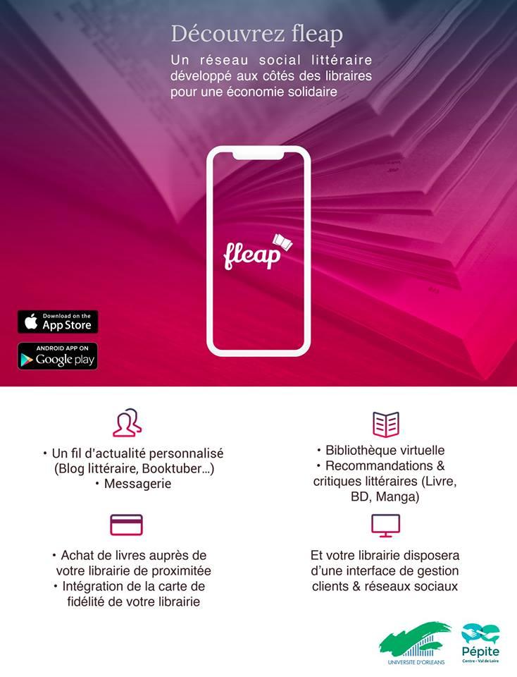 Soutenez «Fleap», réseau social littéraire