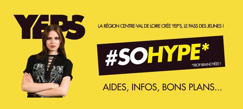 YEP'S, le pass des jeunes en Centre-Val de Loire
