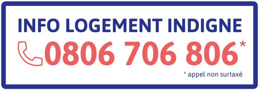 0806 706 806 : le numéro « info logement indigne »