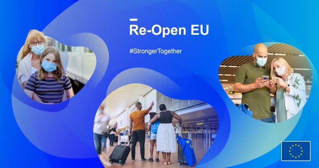Re-open EU, une appli qui permet de connaître les conditions de voyages et de séjours en Europe
