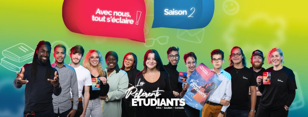 Les référents étudiants : l'info par et pour les étudiants !
